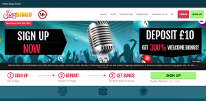 sing bingo homepage