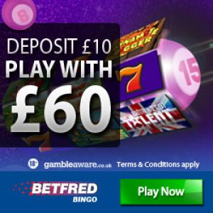 Betfred Bingo- english bingo sites