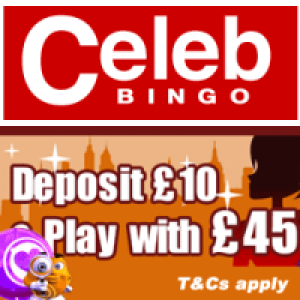 Celeb Bingo- amazing bingo sites
